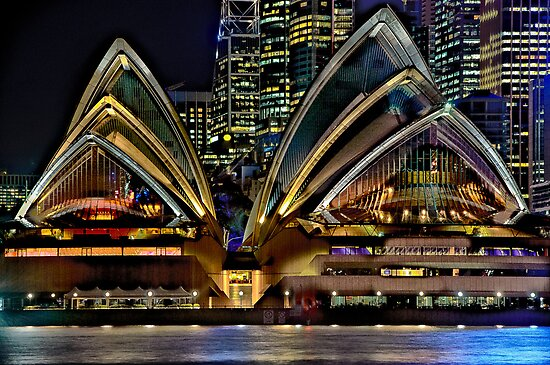 Sydney Opera House by Dianne English