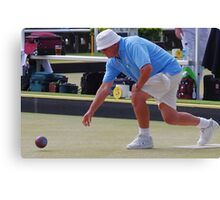M.B.A. Bowler no. b024 Canvas Print