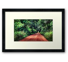Booie Road... Framed Print