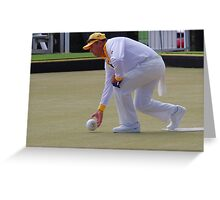 M.B.A. Bowler no. b042 Greeting Card