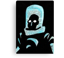 Mr Freeze Canvas Print