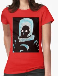 Mr Freeze Womens Fitted T-Shirt