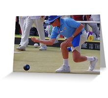 M.B.A. Bowler no. b066 Greeting Card