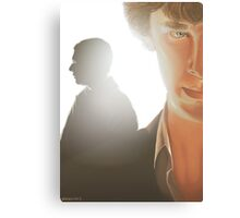 You look sad when you think he can't see you Canvas Print