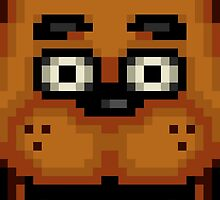 Five Nights at Freddy's 1 - Pixel art - Freddy by GEEKsomniac
