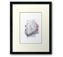 Lover's Touch Framed Print