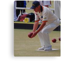 M.B.A. Bowler no. b085 Canvas Print