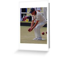 M.B.A. Bowler no. b085 Greeting Card
