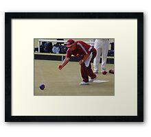 M.B.A. Bowler no. b098 Framed Print