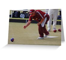 M.B.A. Bowler no. b098 Greeting Card