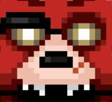 Five Nights at Freddy's 1 - Pixel art - Foxy Sticker