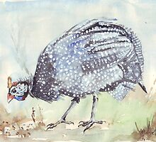 Listen to the Guinea Fowl by Maree  Clarkson