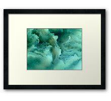 Mermaid's Smile Framed Print