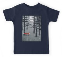 The Fox and the Forest Kids Tee