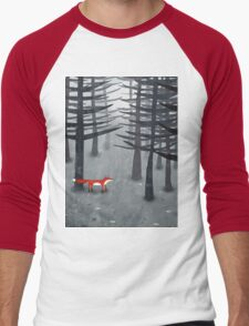 The Fox and the Forest Men's Baseball ¾ T-Shirt