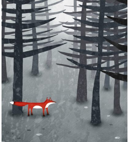 The Fox and the Forest Sticker