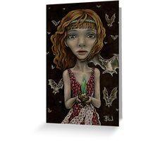 Persephone - the Queen of the Underworld Greeting Card