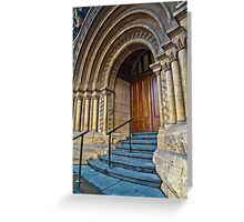 Old Magistrates Court Melbourne Greeting Card