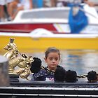 Bored On A Gondola At La Regatta Storica? by SaffronDunne