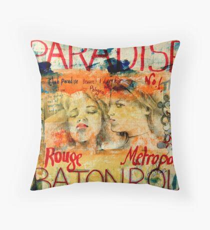 *Dayz at the Club Paradise*  Throw Pillow