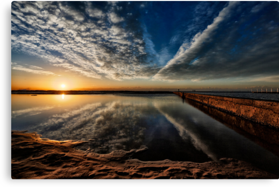 Narrabeen reflections by Adriano Carrideo