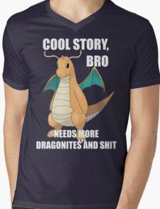 Cool Story, Bro Mens V-Neck T-Shirt