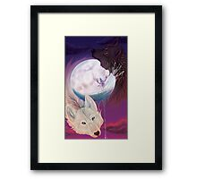 The Moon Framed Print