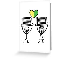 The JDM intercooler couple Greeting Card