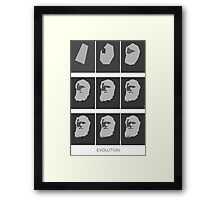 EVOLUTION (DARWIN) Framed Print