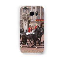 The household cavalry pass Buckingham Palace ahead of Trooping The Colour Samsung Galaxy Case/Skin