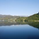 A sunny day at lake Bled - Slovenia by Arie Koene