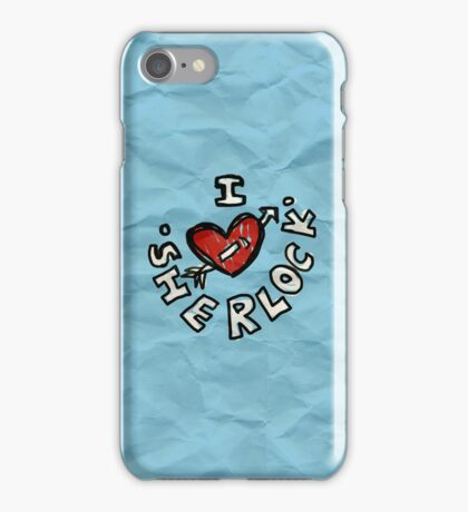 I ♥ Sherlock iPhone Case/Skin