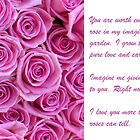 Love you with roses by Susanna Hietanen