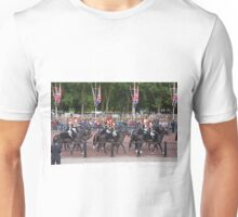 Horses at Trooping The Colour Unisex T-Shirt
