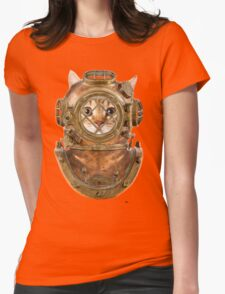 DiverCat Womens Fitted T-Shirt