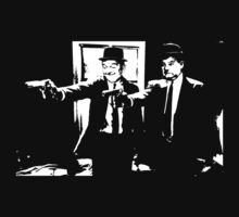 Pulp Fiction Laurel and Hardy by eZonkey