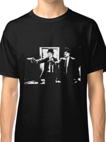 Pulp Fiction Laurel and Hardy Classic T-Shirt