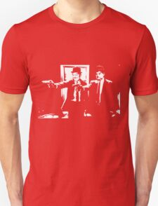 Pulp Fiction Laurel and Hardy Unisex T-Shirt