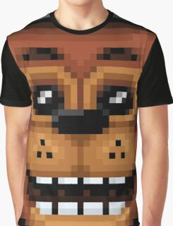 Five Nights at Freddy's 2 - Pixel art - Toy Freddy Graphic T-Shirt