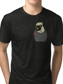 Pug You Pocket Tri-blend T-Shirt