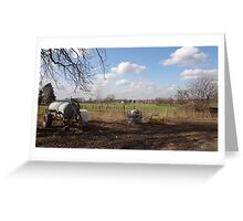 Germany Country side in Spring North Rhine-Westphalia Greeting Card