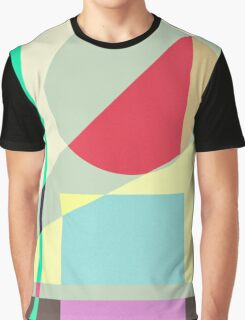 Modern Abstract Geometrical Print Graphic T-Shirt