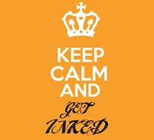Keep Calm..... Get INKED Womens Fitted T-Shirt