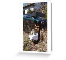 Easter Street Art Dalherda Essen Germany (2) Greeting Card
