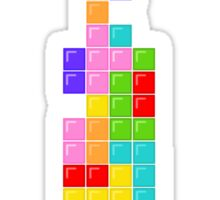 Tetris Thin Tie Sticker