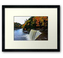 Colorful Falls Framed Print