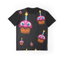 Five Nights at Freddy's 2 - Pixel art - Cupcake (no plate) Graphic T-Shirt