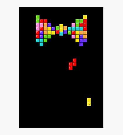 Tetris Papillon Photographic Print