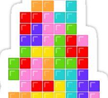 Tetris Tie Sticker