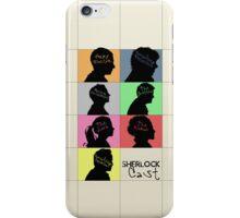 Sherlock - CAST iPhone Case/Skin